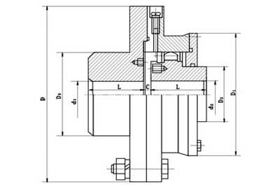 B.CLZ-type-gear-coupling