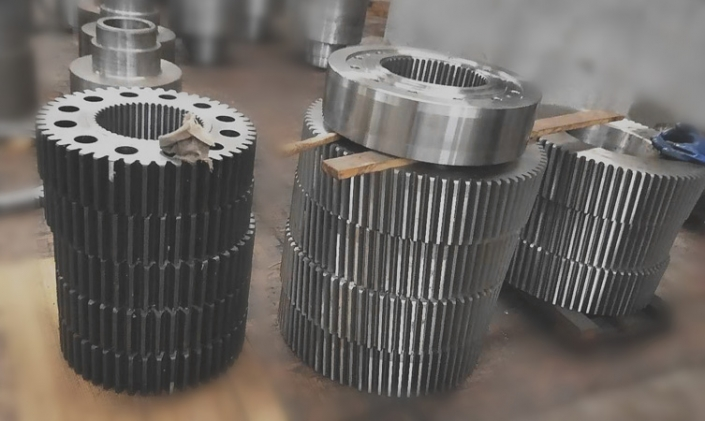 Customized helical gear