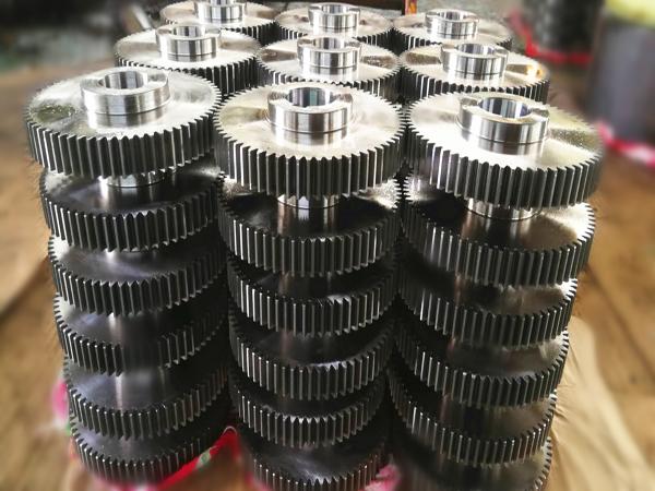 Engranaje recto de precisión para maquinaria