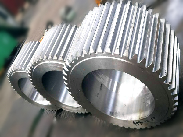 forging spur gear for heavy machine