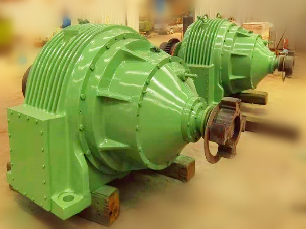 gearbox for mining
