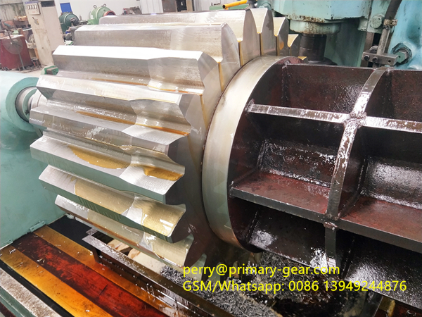 ball mill pinion gear cutting