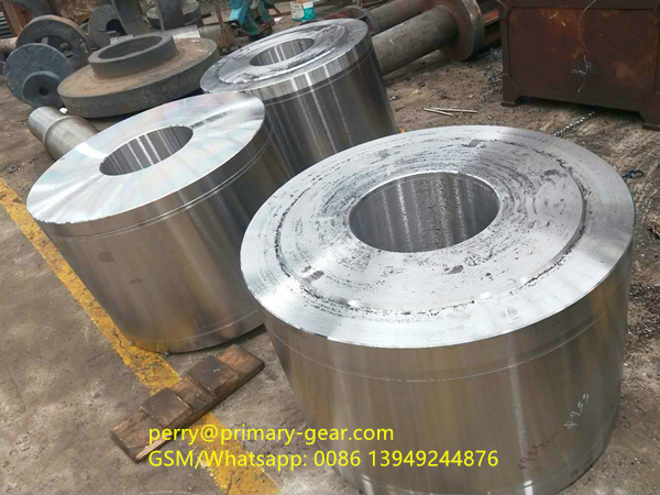 ball mill pinion to be gear cutting