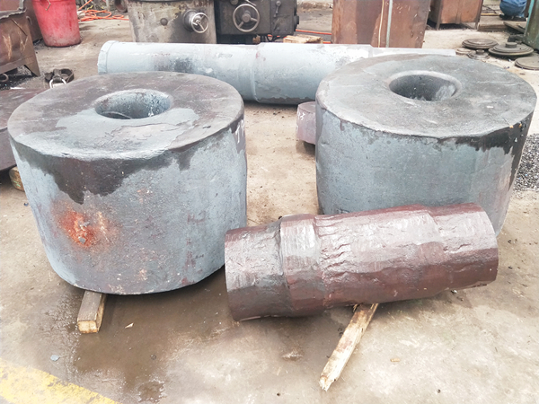 forging gear and shaft